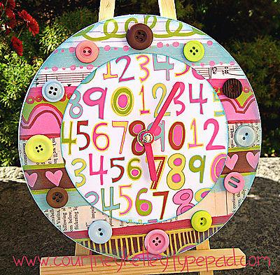 Love Elsie Clock blog screen