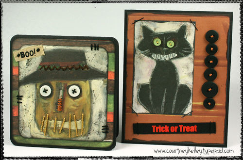 Old halloween cards