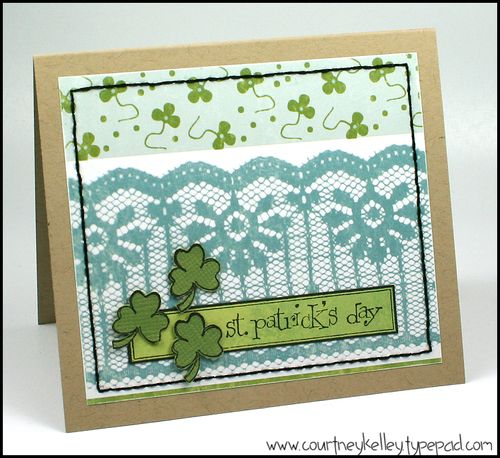 Ckelley st patricks day card