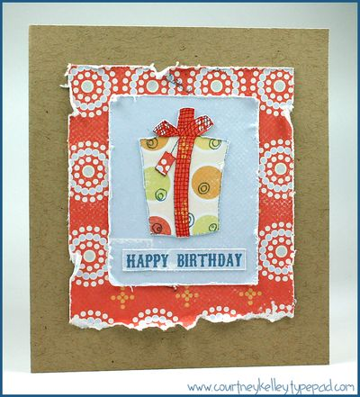 Ckelley happy birthday present card