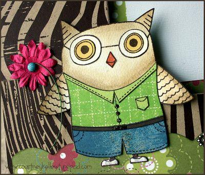 Owl frame detail