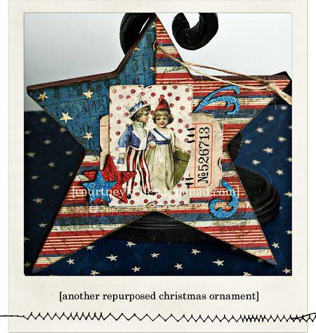 Large 4th july ornament blog