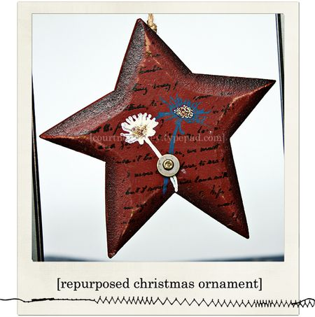 4th july star ornament blog