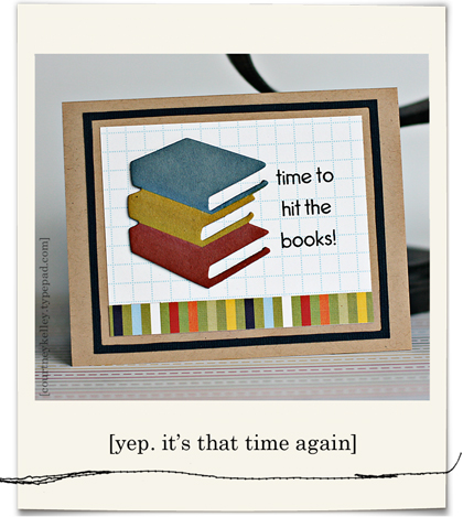 Time to hit the books blog01