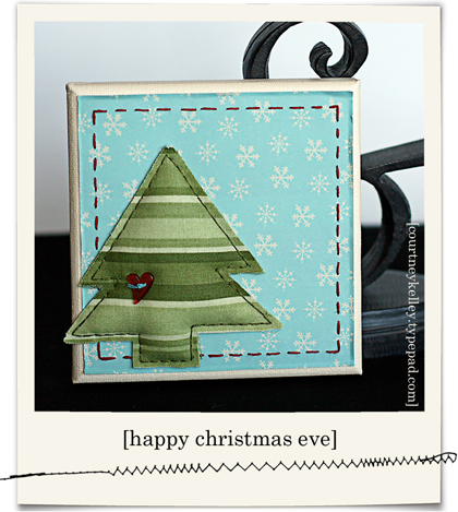 Christmas tree canvas blog02