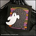 ghost and tombstone card