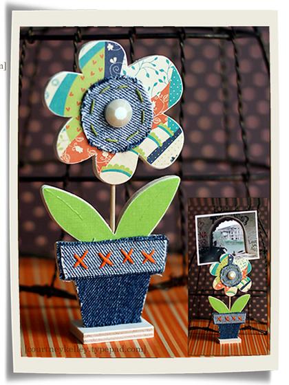 Flower photo holder blog02