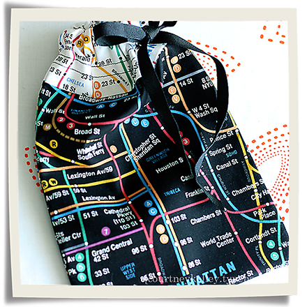 Subway scrunchie bag blog02