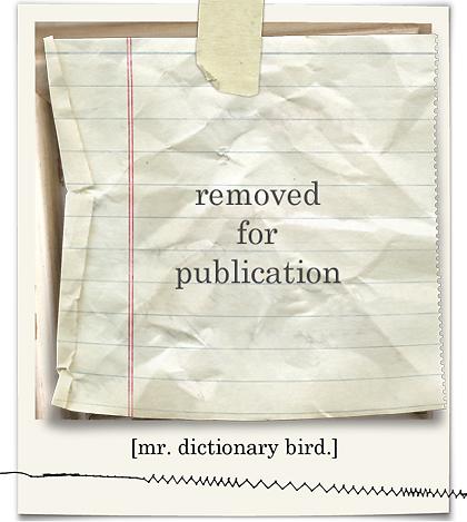 Dictionary bird framed blog03