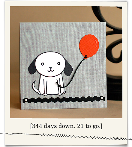 Color Inspiration Dog with Balloon blog03