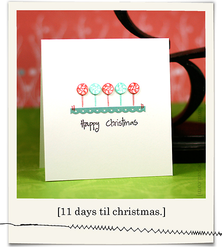 Happy Christmas Lollipops blog02