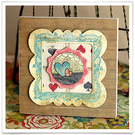 Two hearts wall hanging blog02