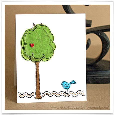 Tissue paper tree blog02