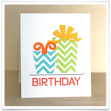 Chevron birthday blog 02