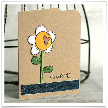 Congrats heart flower blog02
