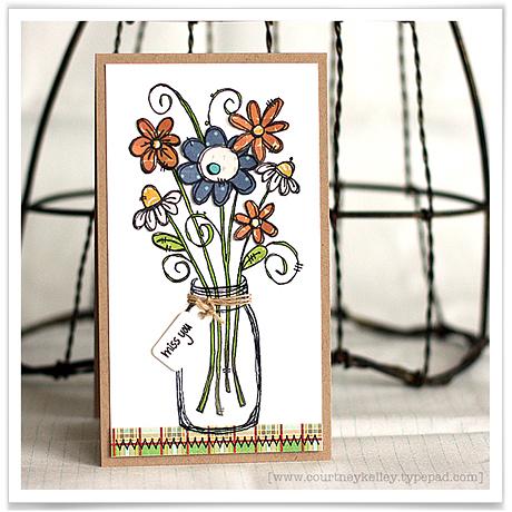 Miss you flower jar blog02