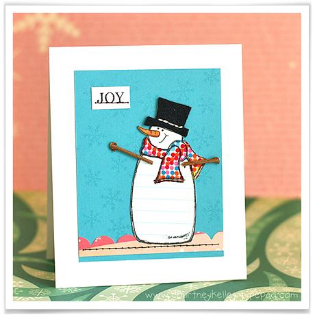 Joy Snowman blog02