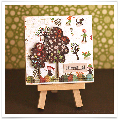 Happy Fall Wall Hanging blog02