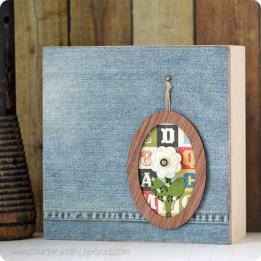 Framed Flower Wall Hanging blog02