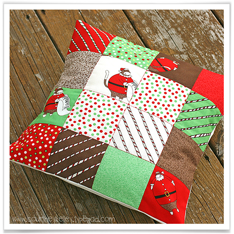 Christmas Monkey Pillow blog02