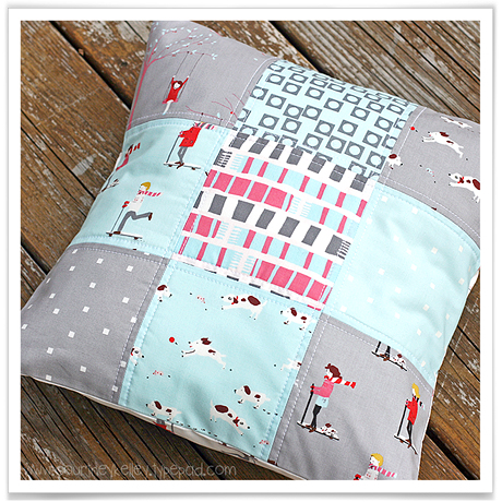 Winter Charm Pack pillow blog02