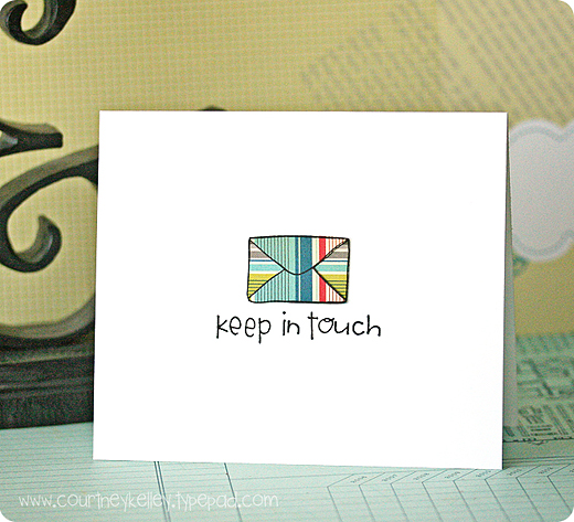 Keep in Touch Envelope blog02