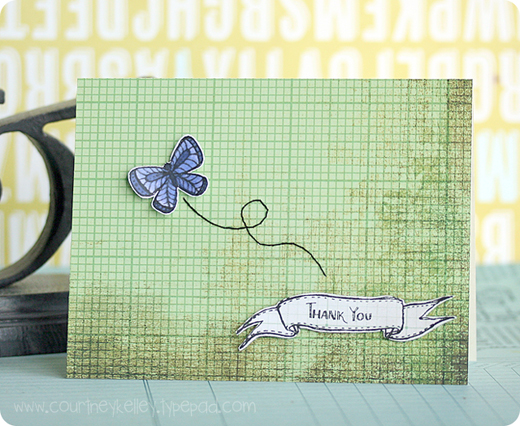 Thank You Banner & Butterfly blog02
