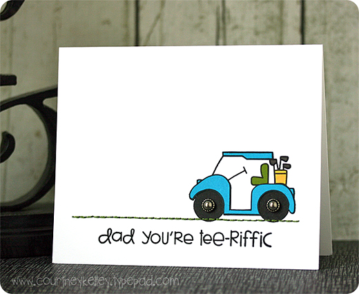 Courtney Kelley - Dad You're Tee-riffic