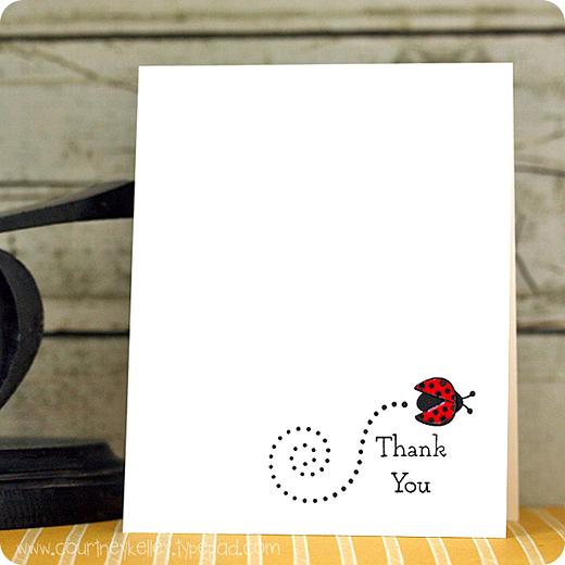Courtney Kelley - Thank You Ladybug