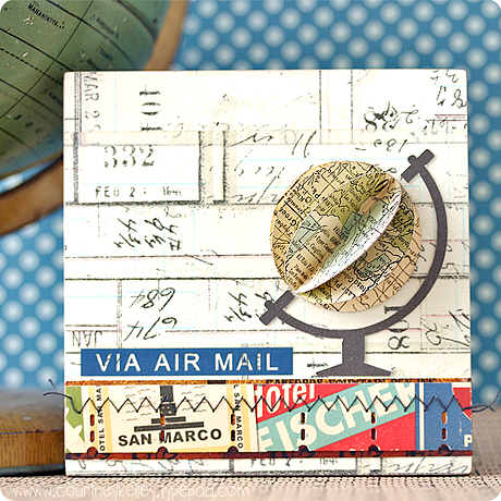 Via Air Mail Globe canvas blog02