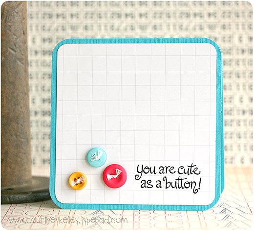 Cute as a button blog02