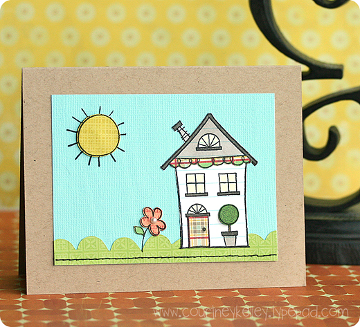 Simple House Scence blog02