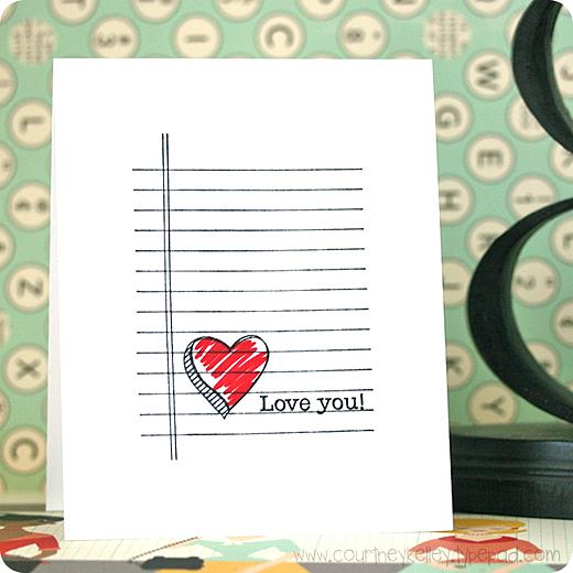 Courtney Kelley - Heart Doodle