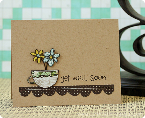 Courtney Kelley - Get Well Soon Cup