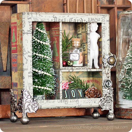 Christmas Shadow Box blog02