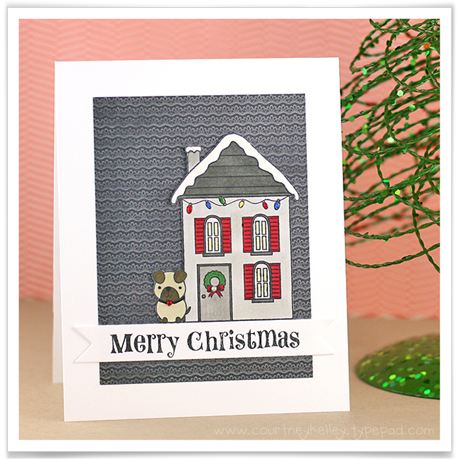 Courtney Kelley - Merry Christmas House