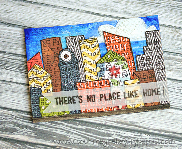 Courtney Kelley - There's No Place Like Home ATC