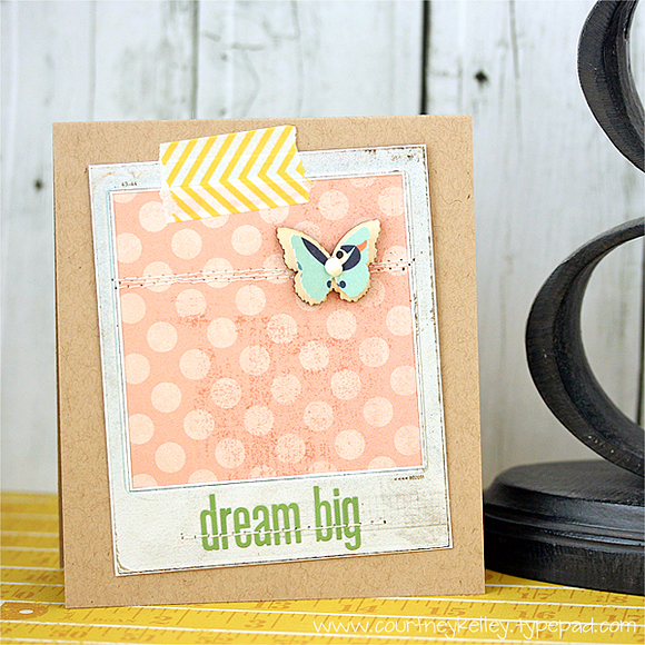 Courtney Kelley - Dream Big Butterfly Card