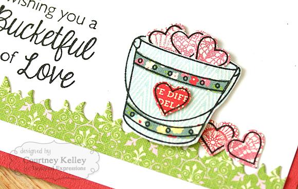 Courtney Kelley - Bucketful of Love Detail