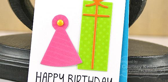 Courtney Kelley - Happy Birthday Tag Detail