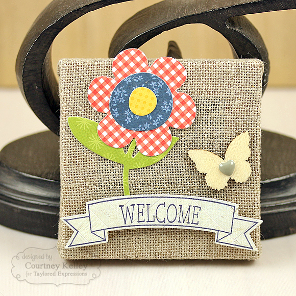 Courtney Kelley - Welcome Mini Canvas