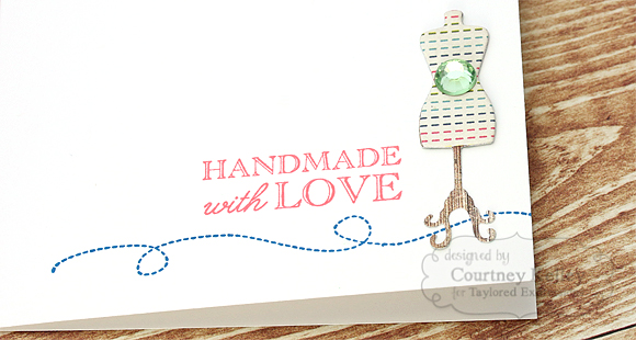 Courtney Kelley - Handmade With Love Detail