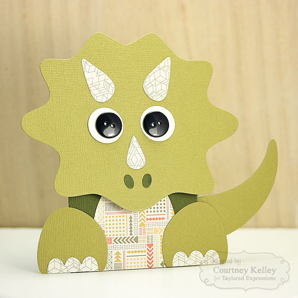 Courtney Kelley - Dinosaur Gift Card Holder