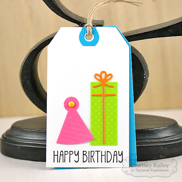 Courtney Kelley - Happy Birthday Tag