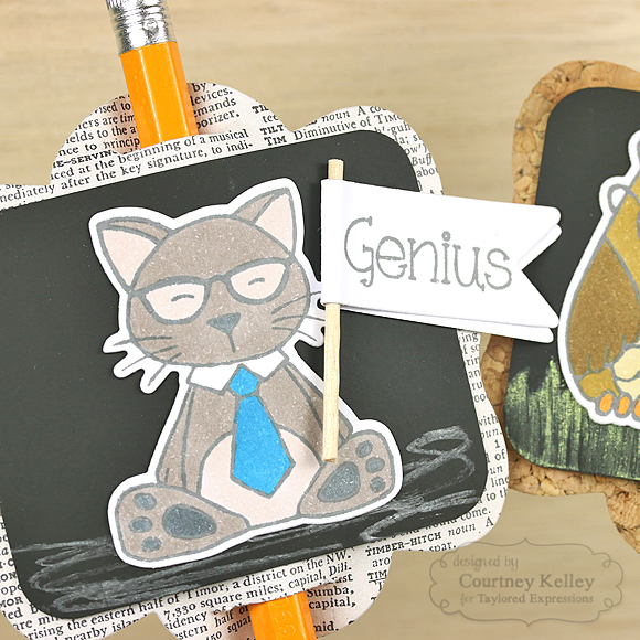 Courtney Kelley - Genius Pencil Topper