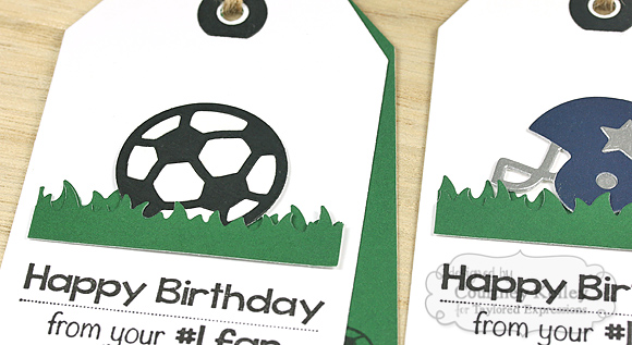 Courtney Kelley - Sporty Birthday Tags