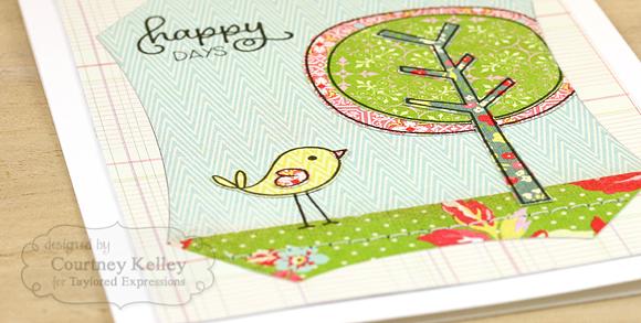 Courtney Kelley - Happy Days Detail