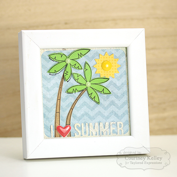 Courtney Kelley - I Love Summer Frame Decor