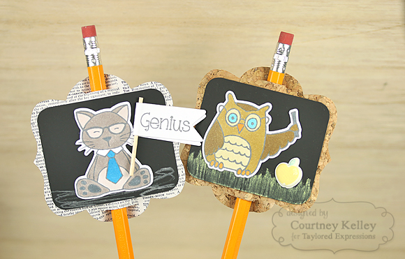 Courtney Kelley - Genius Pencil Toppers