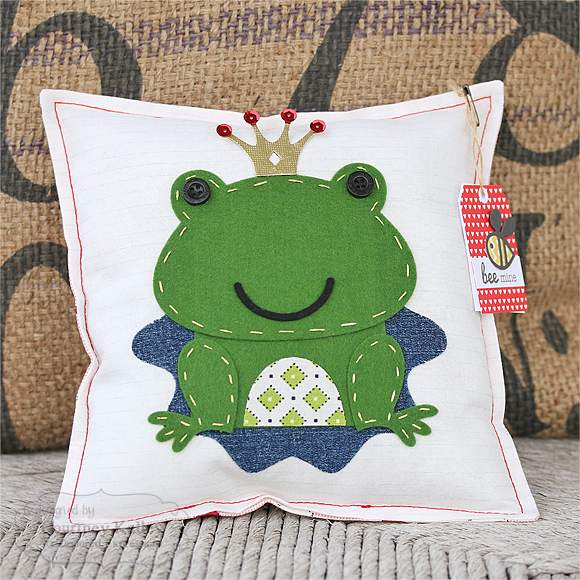 Courtney Kelley - Frog Prince Pillow